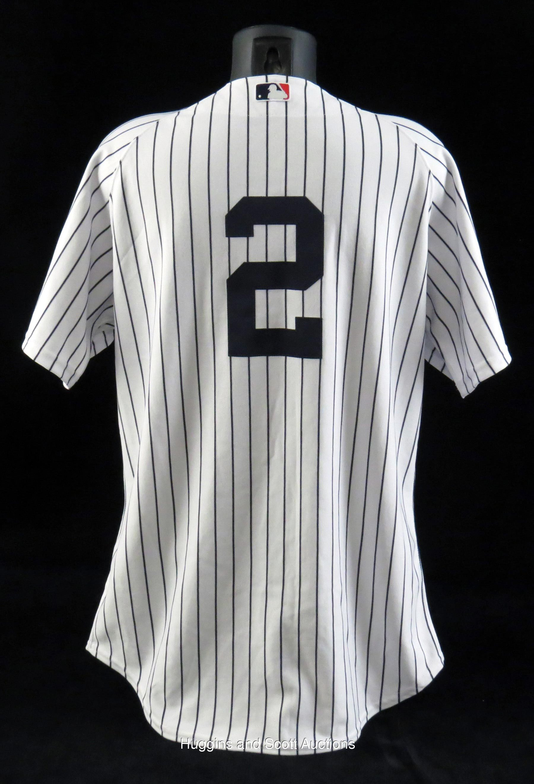 Derek Jeter 2008 New York Yankees Game-Worn Home Jersey - MEARS A5 5cb2cb6cf2e